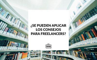 ¿Se pueden aplicar los consejos para Freelancers?